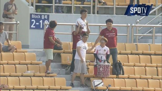 Daejeon Citizen Fans in Gyeongnam June