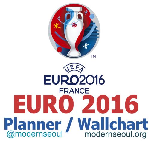 Euro 2016 Planner Wallchart Banner