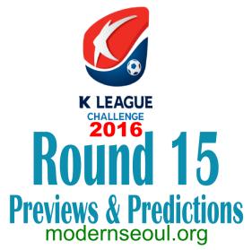 K League Challenge 2016 Round 15 banner