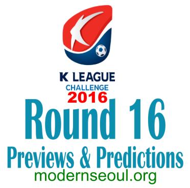 K League Challenge 2016 Round 16 banner