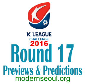 K League Challenge 2016 Round 17 banner