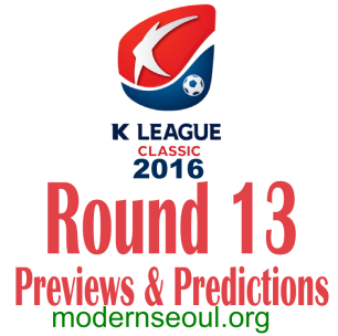 K League Classic 2016 Banner Round 13