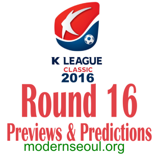 K League Classic 2016 Banner Round 16