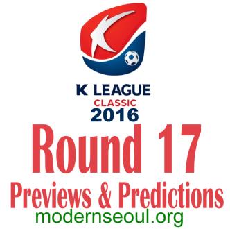 K League Classic 2016 Banner Round 17