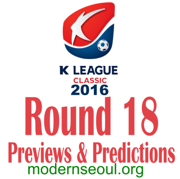 K League Classic 2016 Banner Round 18
