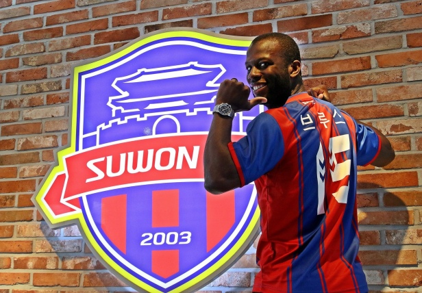 Bruce Djite Suwon FC K League
