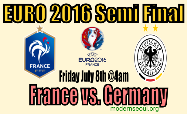 France v Germany Euro2016 semi