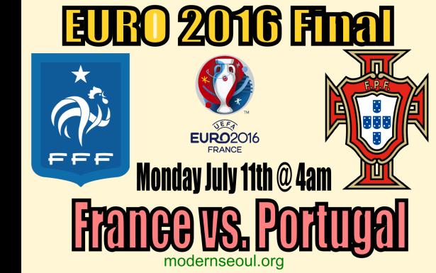 France v Portugal Euro2016 final