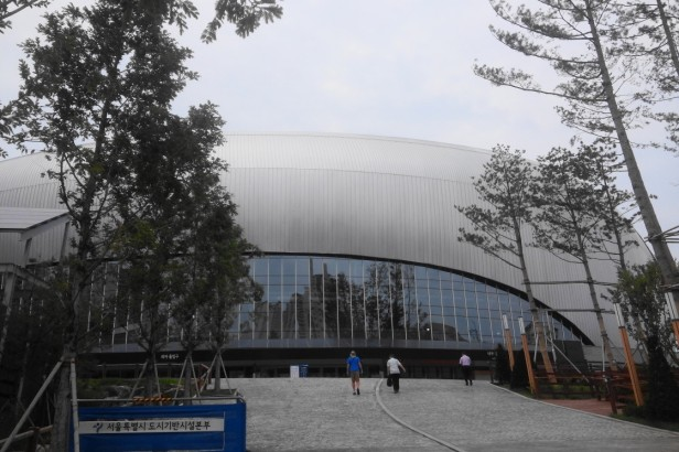 Gocheok Skydome Seoul Nexen Heroes back