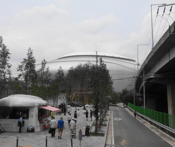Gocheok Skydome Seoul Nexen Heroes Outside Guil Station