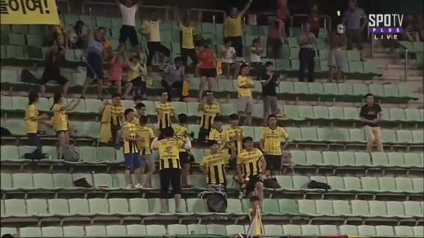 Jeonnam Dragons Jair Fans July 2016 (2)
