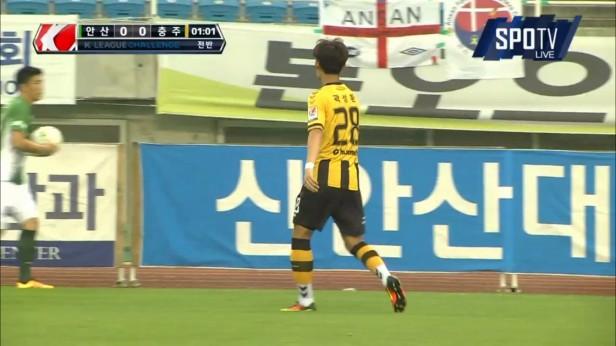 K League 23rd July 2016 Ansan Chungju