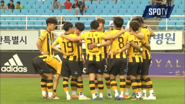K League 23rd July 2016 Chungju Hummel