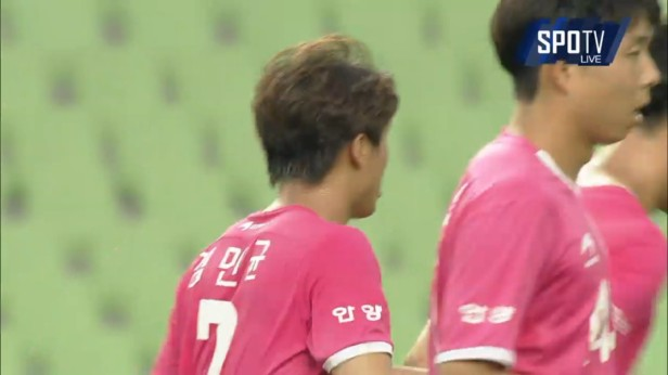 K League 23rd July 2016 Pink FC Anyang
