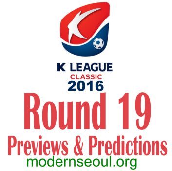 K League Classic 2016 Banner Round 19