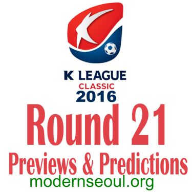 K League Classic 2016 Banner Round 21