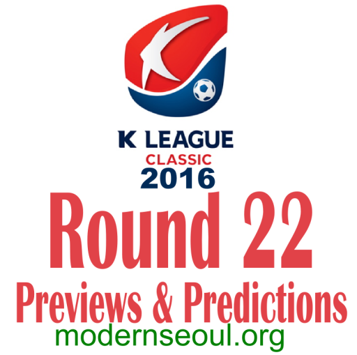 K League Classic 2016 Banner Round 22