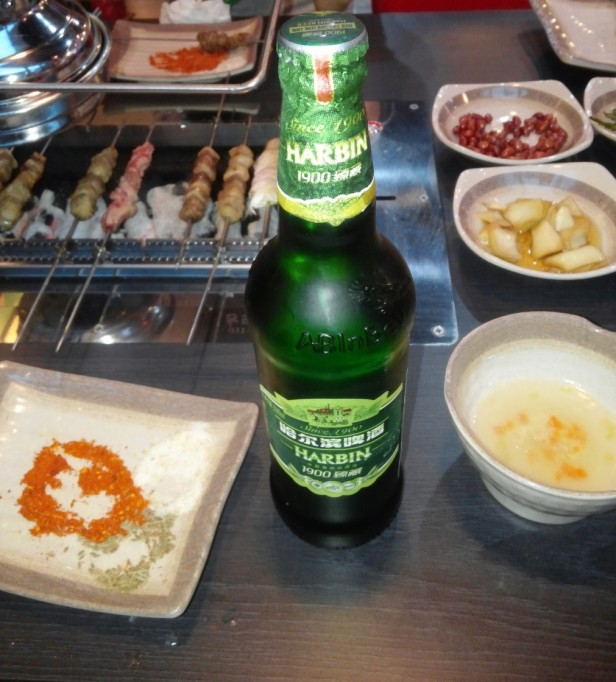 Lamb Kebab Restaurant Incheon harbin bottle