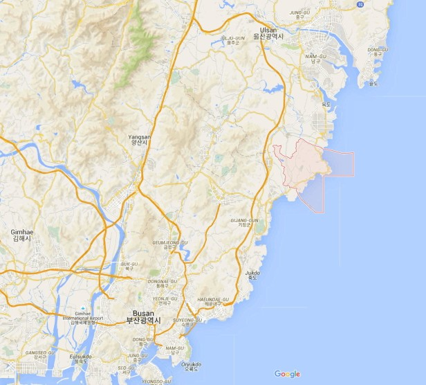 Pokemon Go Ulsan Busan Map