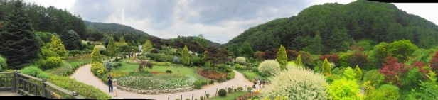 The Garden of Morning Calm Gapyeong KR pano