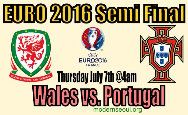 Wales v Portugal Euro2016 semi