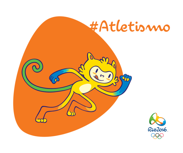 Athletics Rio 2016 Mascot