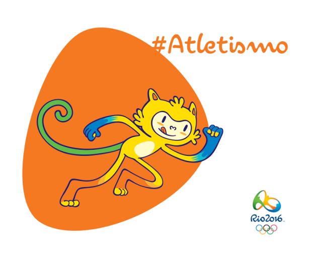 Athletics Rio 2016 Mascot