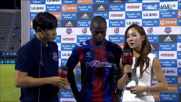 Bruce Djite Suwon FC v Incheon 2016 (2)