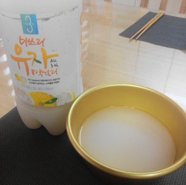 Citron Makkoli Lemon Rice Wine Woori Sul (5)