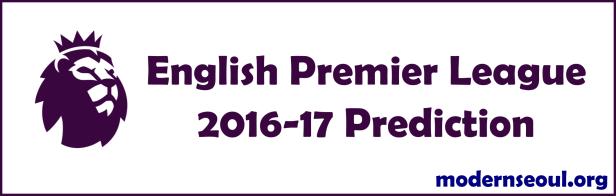English Premier League 2016-17 Prediction Banner