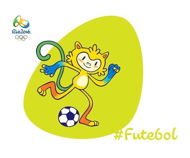 Football Rio 2016 Olympics Mascot