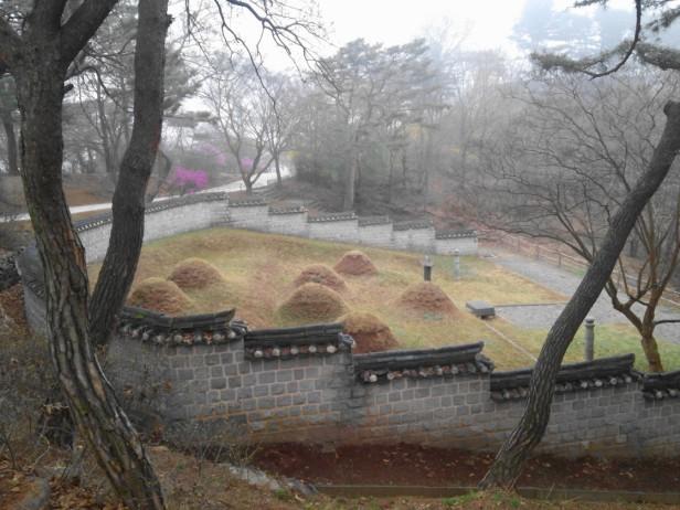 Gwangseongbo Fortress Ganghwa Island graves