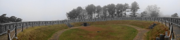 Gwangseongbo Fortress Ganghwa Island pano