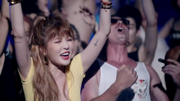 HyunA How's This KPOP 2016 (4)