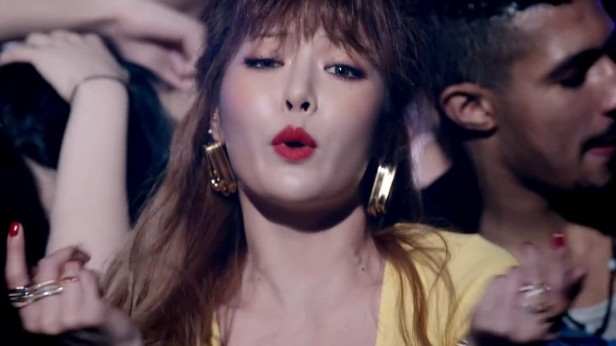 HyunA How's This KPOP 2016 (5)