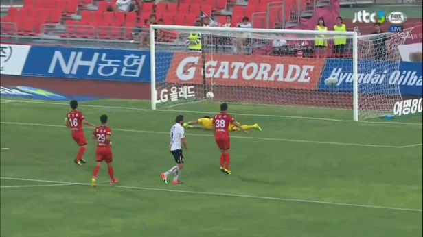 K League August 10th 2016 Dejan Goal