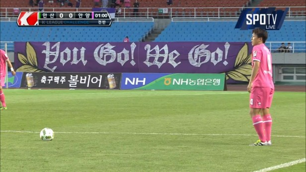 K League August 10th 2016 FC Anyang Pink