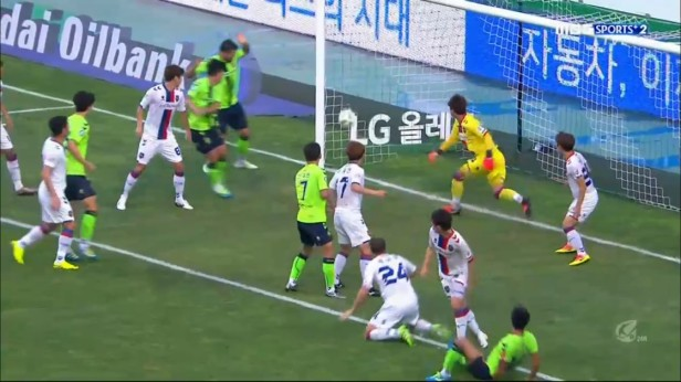 K League August 10th 2016 Jeonbuk Goal