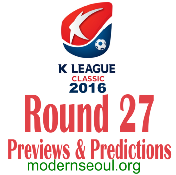 K League Classic 2016 Banner Round 27
