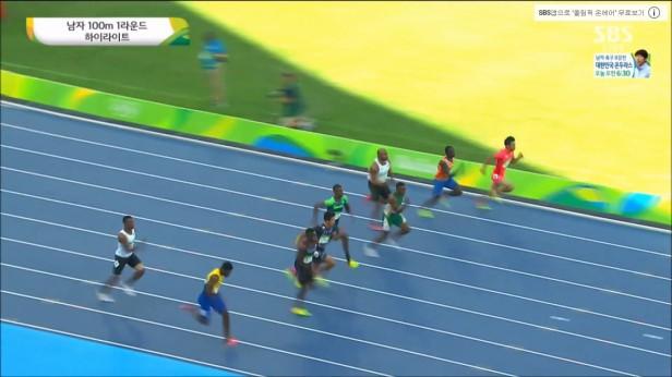 Kim Kuk-young Rio 2016 100m