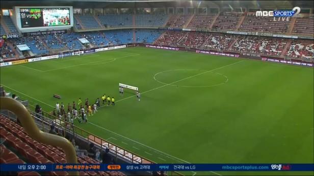 Pohang Steelers v Sangju Sangmu Aug 20 (1)