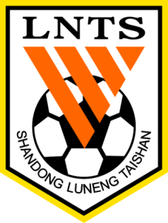 Shandong Luneng Taishan FC Badge Chinese Super League