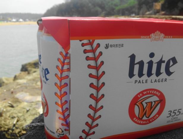 SK Wyverns Hite Beer Incheon Beach