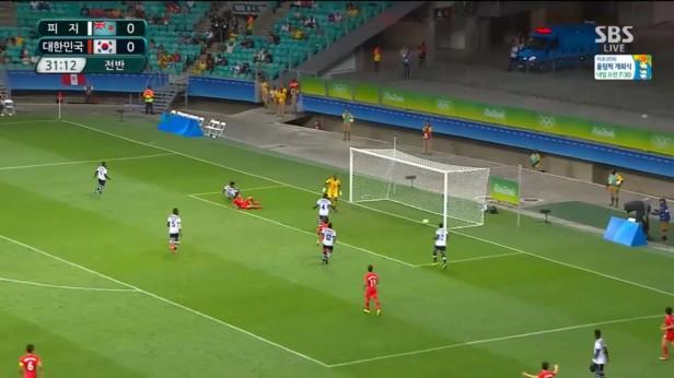 South Korea u23 Fiji u23 Rio 2016 (4)