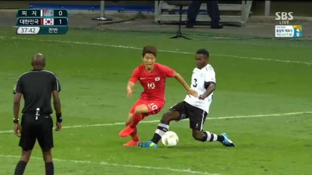 South Korea u23 Fiji u23 Rio 2016 (6)