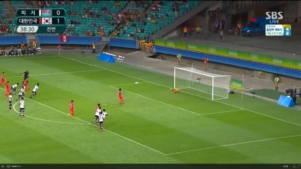 South Korea u23 Fiji u23 Rio 2016 (7)
