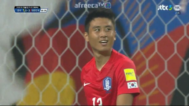 South Korea v China PR World Cup 2018 Q (12)