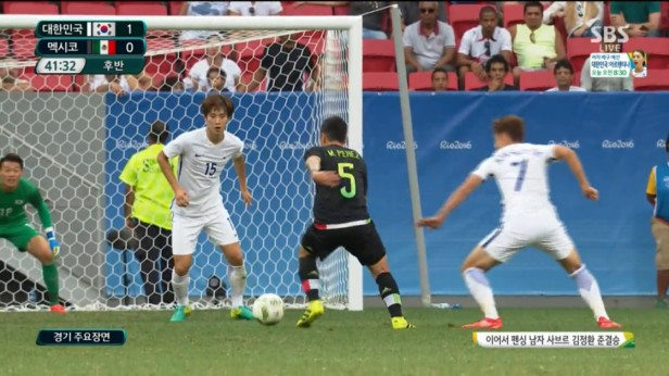 South Korea v Mexico 2016 Olympics SBS (4)