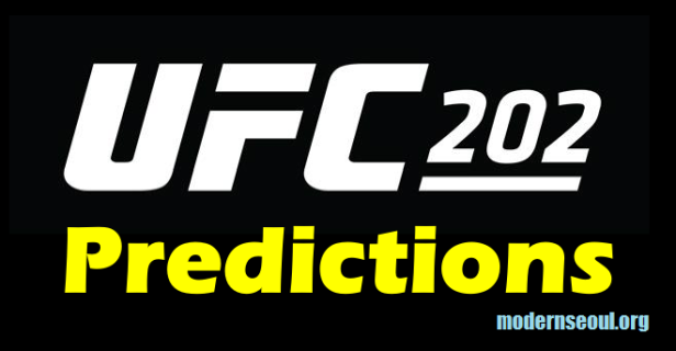 UFC 202 Predicitions Banner Diaz McGregor