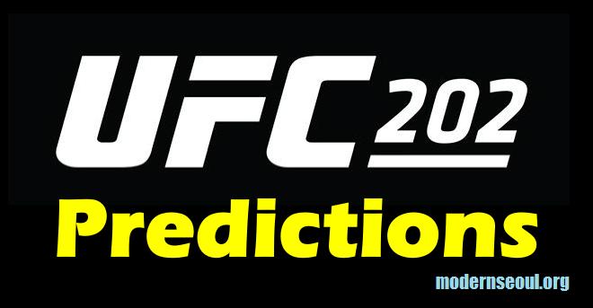 UFC 202 Predicitions Banner Diaz McGregor